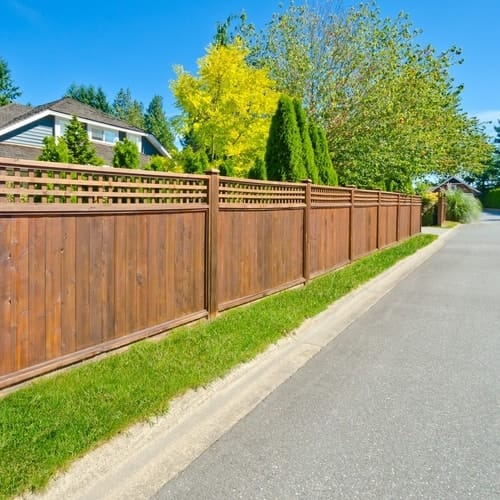 How Do I Stain a Fence?