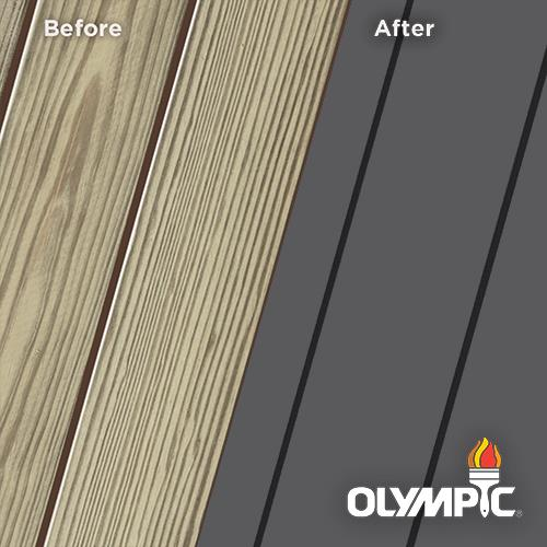 Exterior Wood Stain Colors - Deep Charcoal - Wood Stain Colors From Olympic.com