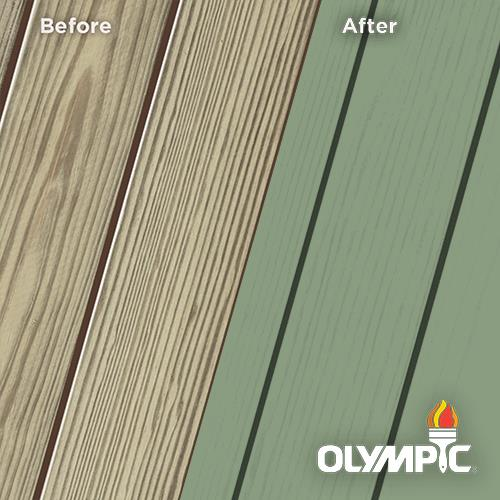 Exterior Wood Stain Colors - Woodland Green - Wood Stain Colors From Olympic.com