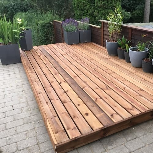 How To Stain A Patio